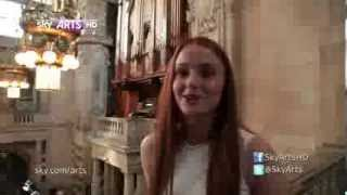Sophie Turner in Sky Arts Portrait Artist of the Year