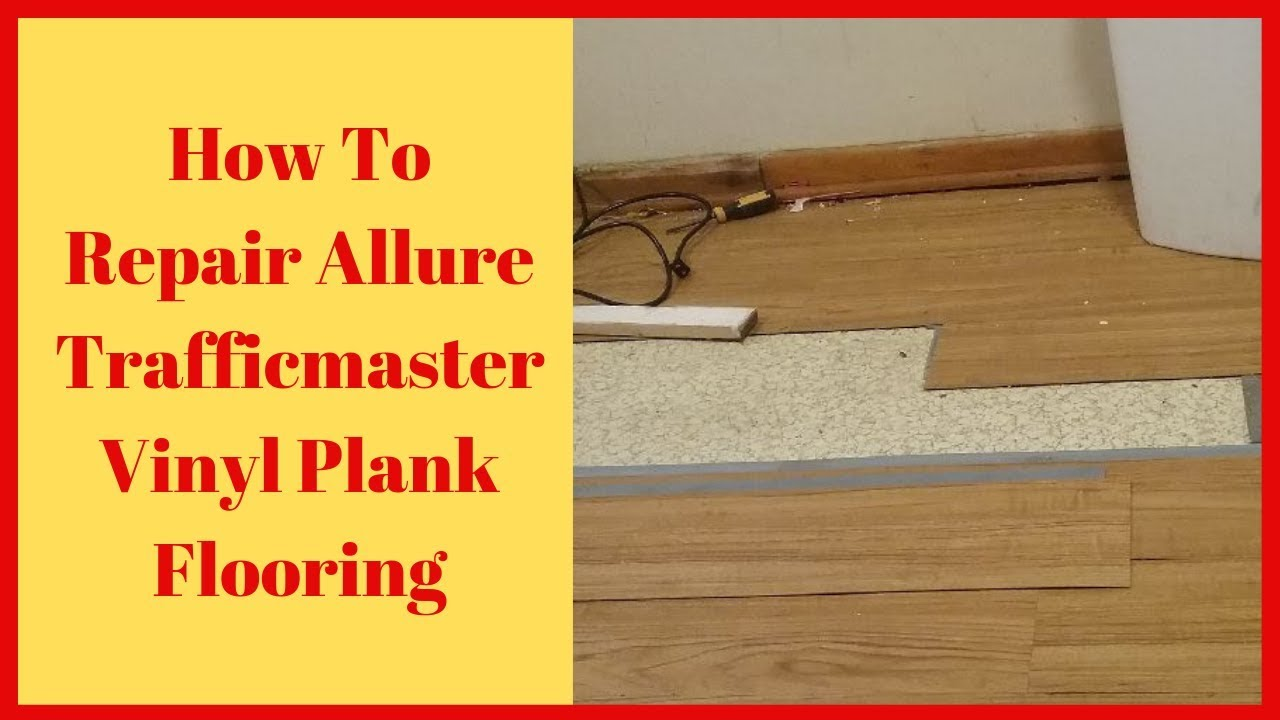 Allure Flooring By Replacing Planks