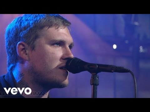 The Gaslight Anthem - Film Noir (Live On Letterman)