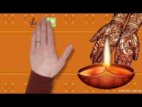 Diwali/Deepavali Greetings whiteboard video