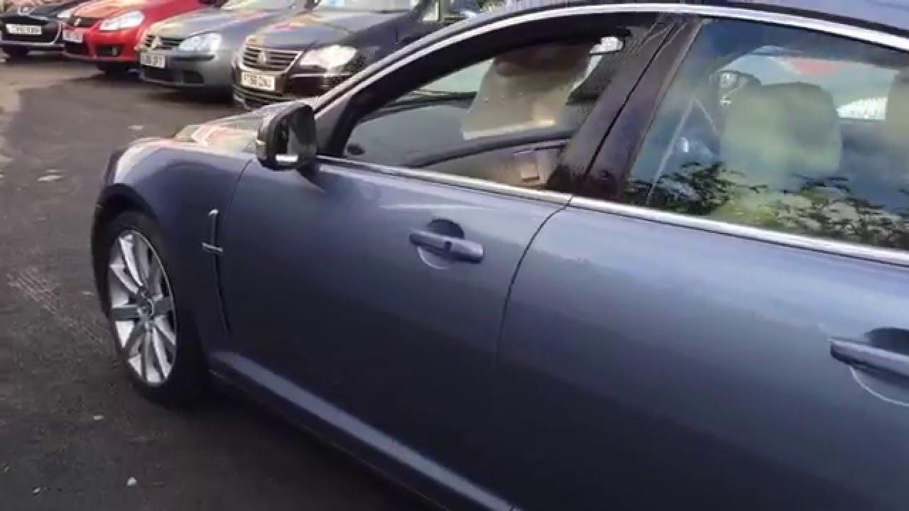 medium resolution of 2008 58 jaguar xf 2 7d v6 premium luxury finished in metallic haze blue trade right cars cardiff