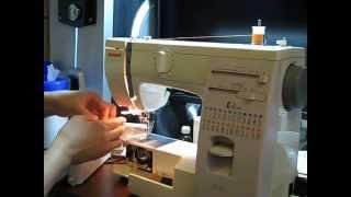 заправка нитки в машинку Janome 423S/5522(, 2014-11-18T17:57:54.000Z)