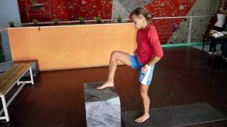 Скалолазание. Упражнения для развития прыжка