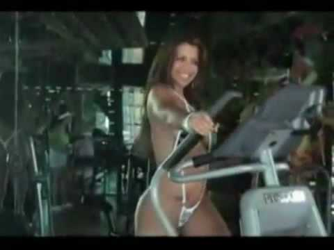 Vida Guerra Bikini Workout
