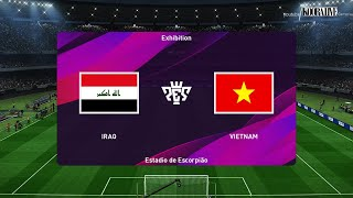 مباراة منتخب العراق ضد منتخب فيتنام |هدف عجيب مهند علي | PES 2019