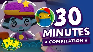 Dizzy Zombie, Get Some Sleep! - Kids Song Compilation   Didi & Friends