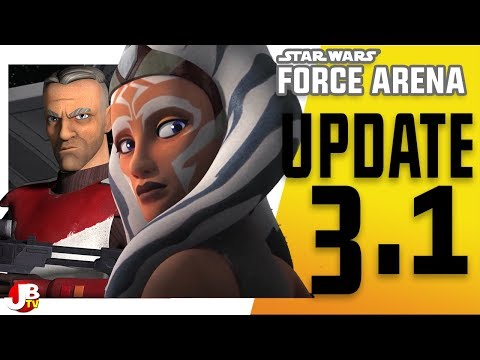 Update 3.1. Why you should login to Star Wars: Force Arena