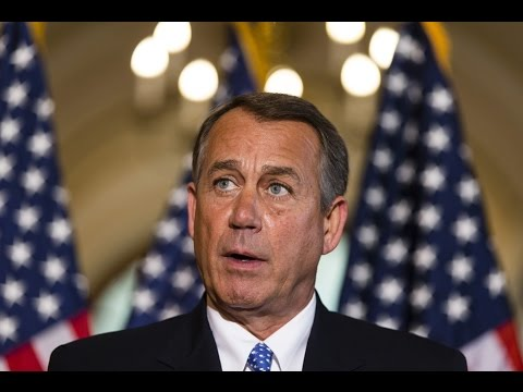 Boehner holds news conference following Republican conference