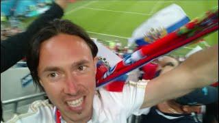 Fifa world cup 2018 ЧМ 2018 в России Матч за выход в 1 8 финала Россия Египет Я на матче