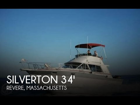 Used 1986 Silverton 34 Convertible for sale in Revere, Massachusetts