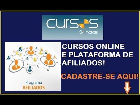 CURSOS 24 HORAS CURSOS ONLINE E PLATAFORMA DE AFILIADOS
