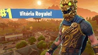 I bought the combat dog's skin and I won it-Fortnite