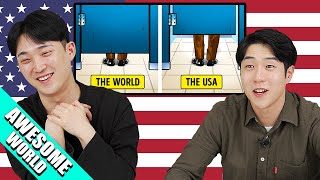 Download Mp3 Things Americans Do That Confuse The Rest Of The World  Korean React  Gudang lagu
