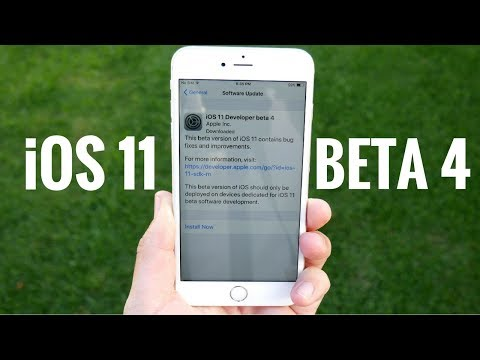 iOS 11 Beta 4 Released! - What's New?