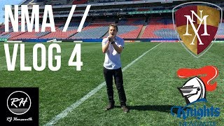 NMA // Vlog #4 - RJ Hemsworth at The Knights
