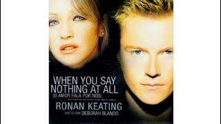 """From the single """"When You Say Nothing At All"""" (2002) Ronan, Keating,"""
