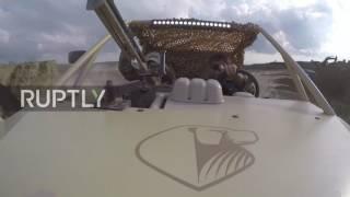 Russia: Ramzan Kadyrov test-drives new Chechen-produced buggy