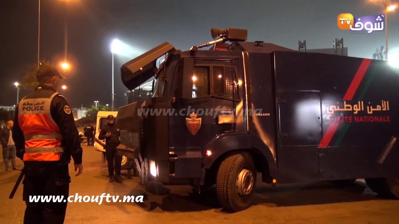 جماهير-الجيش-غادرت-مركب-محمد-الخامس-تحت-مراقبة-أمنية-صارمة
