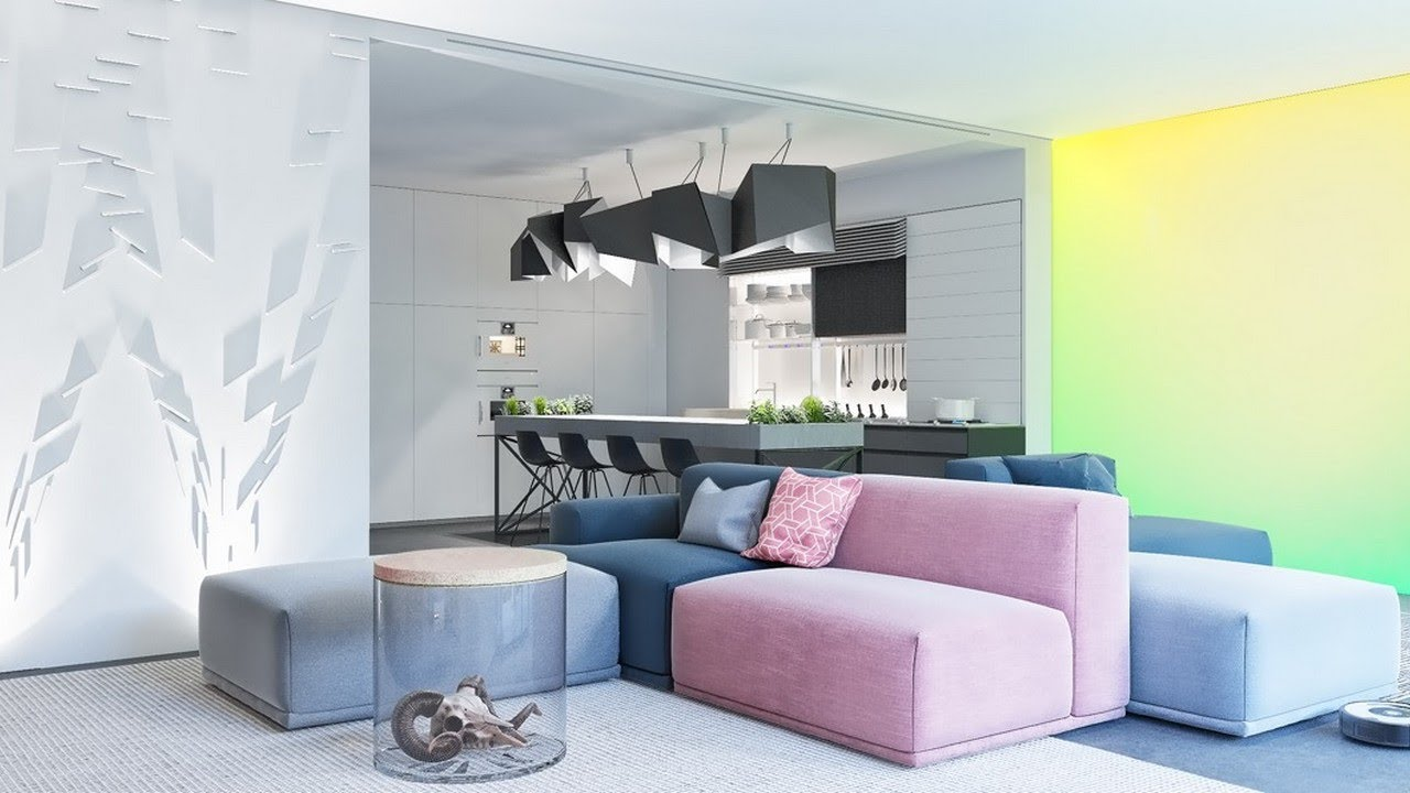 Amazing Look Inspiration Cool Futuristic Style Home Interiors