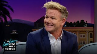 Gordon Ramsay Was Kicked Out of His Twins' Birthday