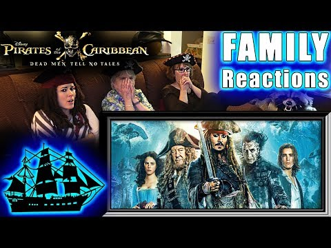 Pirates of the Caribbean 5   Dead Men Tell No Tales   FAMILY Reactions   Fair Use