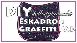 DIY Eskadron Graffiti Pad selbstgemacht / inspiriert :) Tutorial