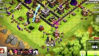 Clash of Clans sorry about the lack of videos