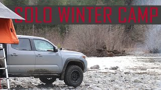 Solo Winter Camping iฑ the Olympic National Forest