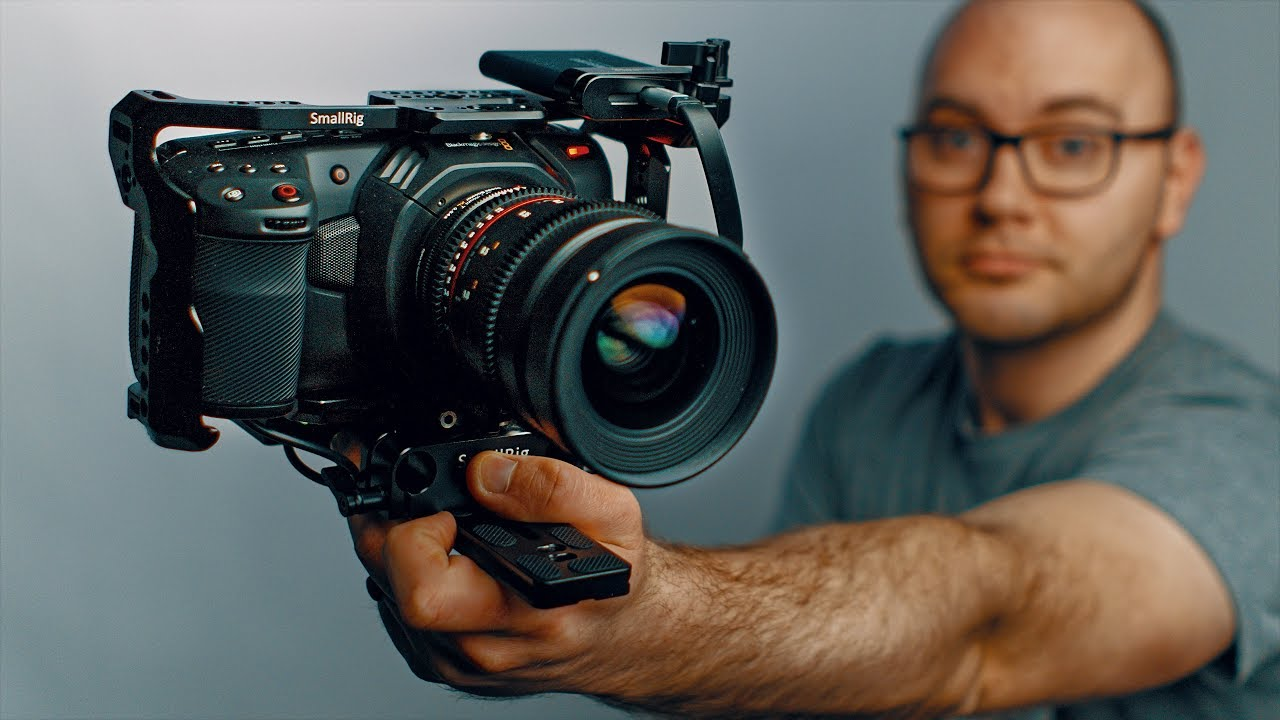 The Blackmagic Pocket 4K is INSANE