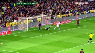 Cristiano Ronaldo Vs FC Barcelona - CDR Final (English Commentary) - 10-11 HD 1080i By CrixRonnie