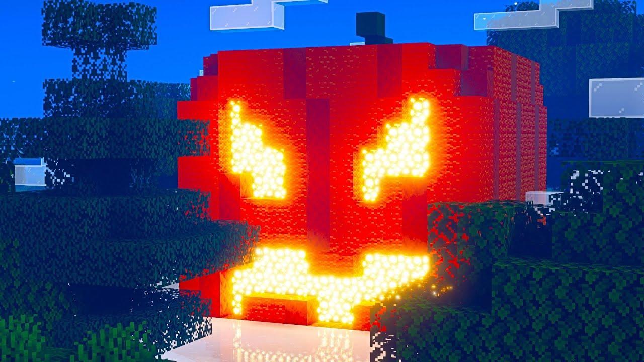 🎃 Minecraft Halloween Pumpkin #Shorts