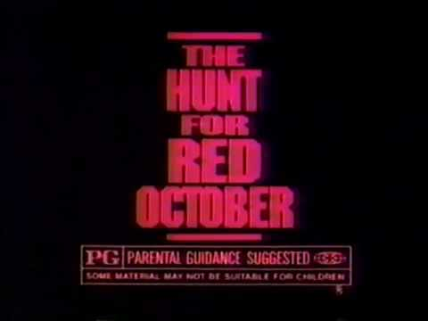 The Hunt For Red October 1990 Tv Spot Youtube