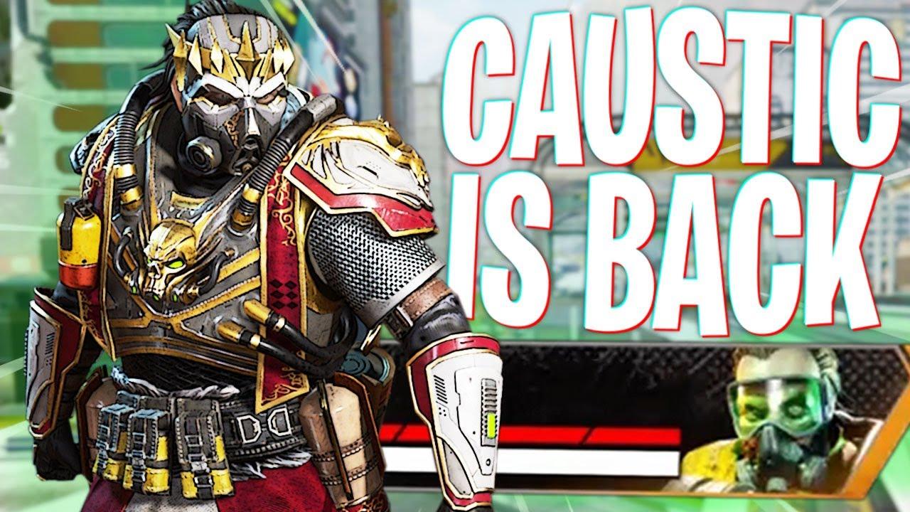 Download Caustic is BACK in Apex! - Apex Legends Season 10 Caustic Buff