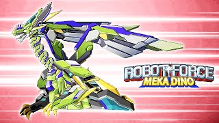 Robot Force - Mecha Dino: Pteranodon | Eftsei Gaming