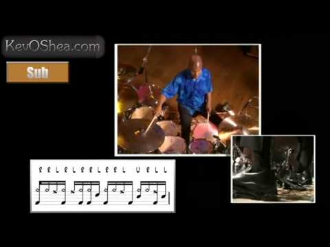 Free Drum Lessons | John Blackwell Syncopated Groove
