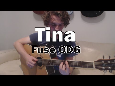 Tina - FUSE ODG feat Angel (Guitar Lesson/Tutorial) with Ste Shaw