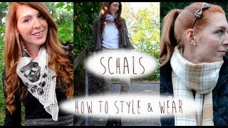 Schals - How to style & wear by LaurenCocoXO thumbnail