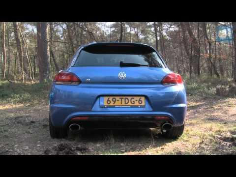 VW Scirocco R NICE! Revving (Interior, Engine, Exhaust)