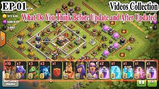 Clash of clans Ep 1 Old Updated DragonLoon & Bowlaloon Best Collection Videos Skills 3 star th11 max