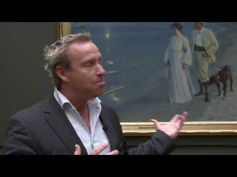"Adam Price fortæller om P.S. Krøyers ""Sommeraften ved Skagens strand"" 1899"