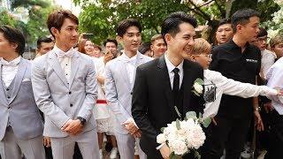 Đám cưới Đông Nhi, Ông Cao Thắng với dàn bê tráp cực phẩm: Song Luân, Uni5, Khổng Tú Quỳnh