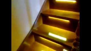 Подсветка лестницы на второй этаж(, 2013-08-07T12:36:18.000Z)