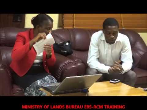 EBSRCM TRAINING WITH MINISTRY OF LANDS BUREAU MAR 2013