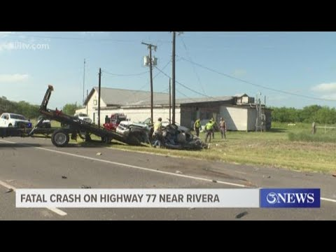 Two-year-old dead after fatal 18-wheeler collision on Highway 77