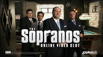 The Sopranos online video slot - Great bonuses and plenty of free spins