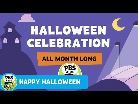 Celebrate Halloween with PBS KIDS All Month Long!