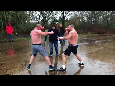 Davey Joyce vs Michael Nevin Travelers Feud Bare knuckle fig
