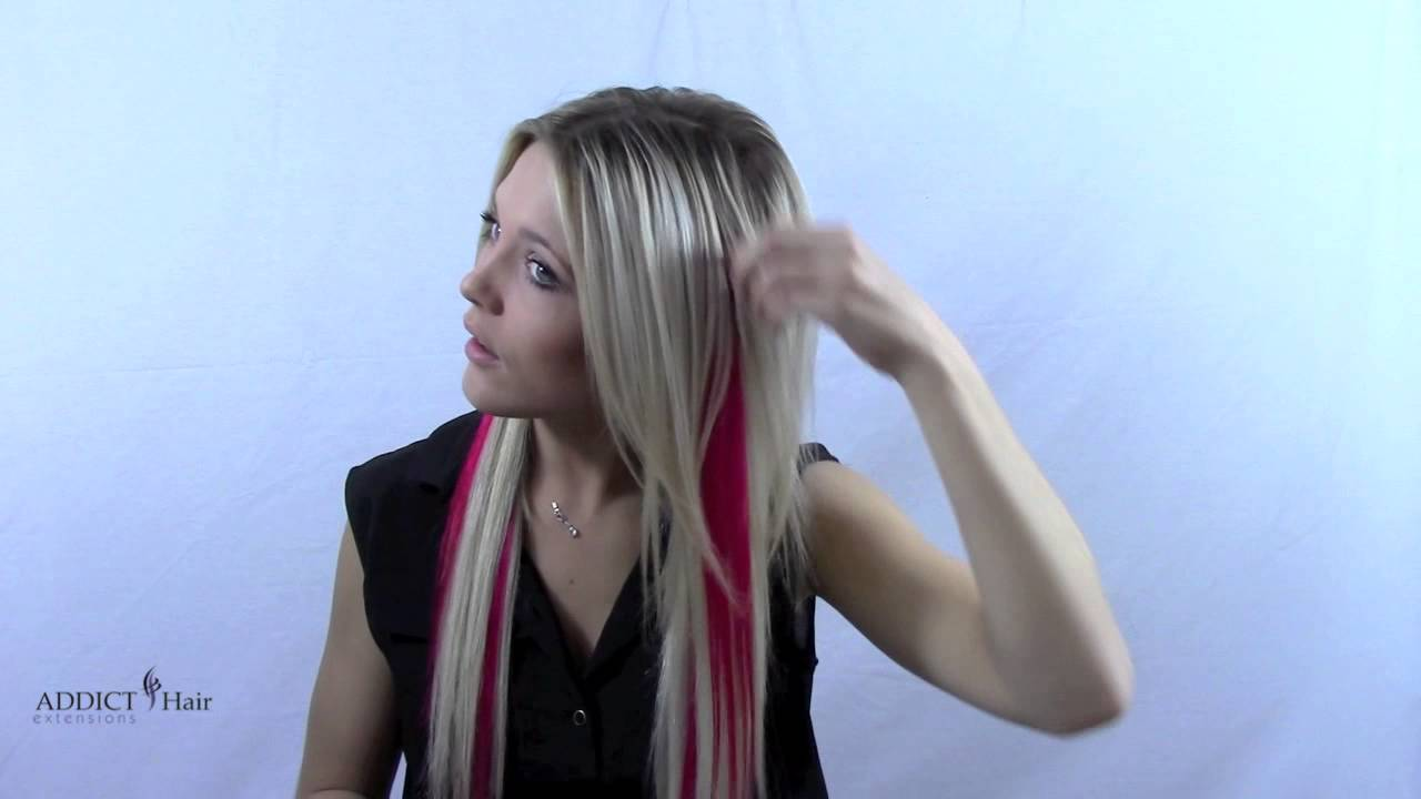 Meches a clipser cheveux naturels