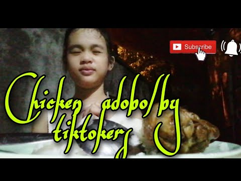 Chicken adobo/by Tiktokers&cooking kids tv