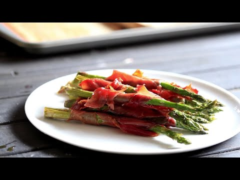 Crispy Prosciutto Wrapped Asparagus
